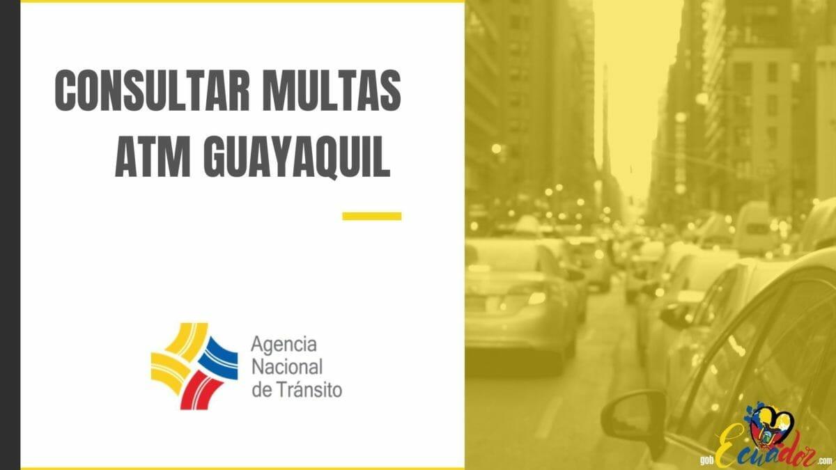 Consultar Multas ATM Guayaquil