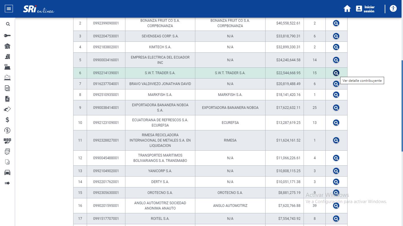 Sri En Linea Consulta Ranking Deudas 13