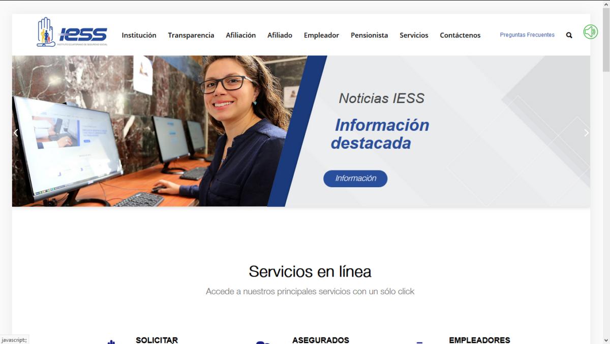 Obtener Mecanizado del IESS por internet