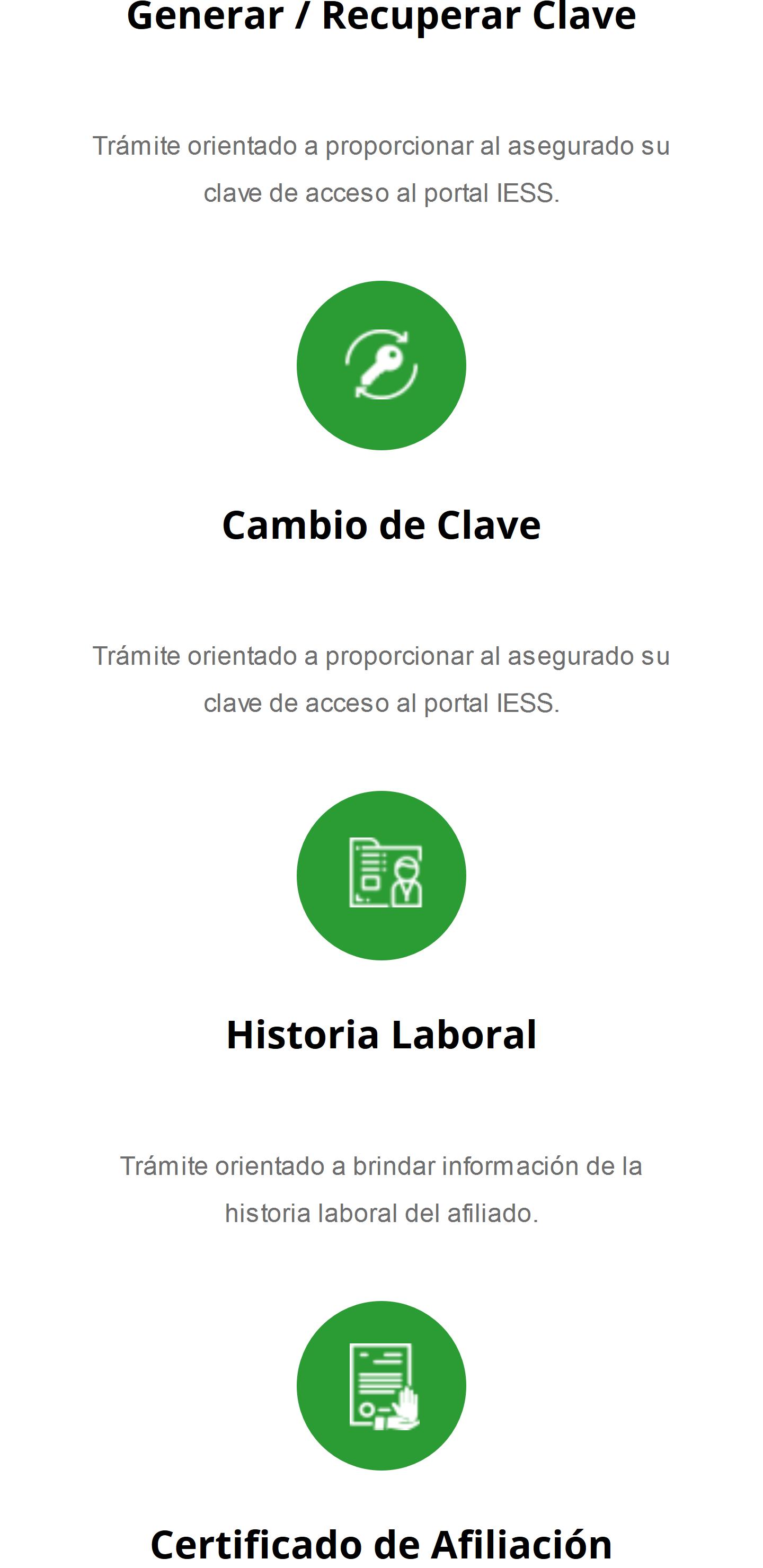 Historia Laboral IESS móvil
